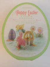 Williams Sonoma HAPPY EASTER 3D Cookie Cutters Egg, Bunny, Duck, Basket, Grass