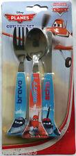 Disney Planes Children Kids Dinner Breakfast Knife , Fork & Spoon Cutlery Set