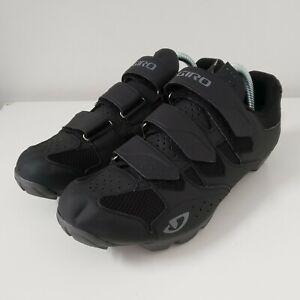 Giro Carbide R II Cycling MTB Bicycle Shoes Black Men's Size 9 US   42 EU