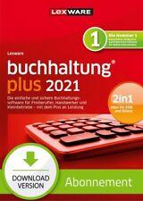 Lexware buchhaltung plus 2021 - Abo Version, Download, Windows