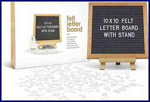Felt Letter Board Message Baby Announcement Changeable Boards W 340 Letters Numb