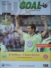 Programm 2001/02 VfL Wolfsburg - Bayern München
