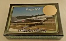 Alaska Airlines Collector Cards Series Douglas DC-3 Limited Edition In Plastic