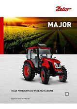 Zetor Major 01 / 2015 catalogue brochure tracteur Traktor tractor