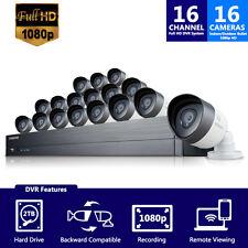 (Refurbished) SDH-C75100-16- Samsung 16CH Security System w/ 16 1080p HD Cameras
