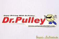 "VESPA Dekor Aufkleber ""Dr. Pulley"" - V50 PK PX PV ET3 Rally GL GS TS GT GTR SS"