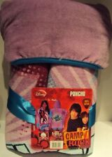 Disney Camp Rock 100% Cotton Poncho hooded towel NEW