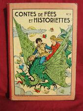 CONTES DE FEES ET HISTORIETTES Imageries réunies JARVILLE NANCY