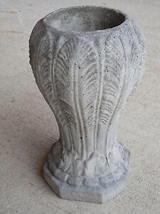 Cement Memorial Vase, Cemetary Vase, Home Decor, Flower Vase, Flower Pot, Urn