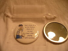 Pocket Purse Mirror Maxine