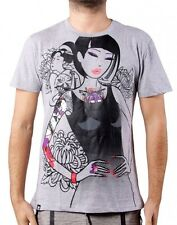 MONORAIL Tee TKDK - L Large - sexy girl tattoo TOKIDOKI Men's Adult Tshirt