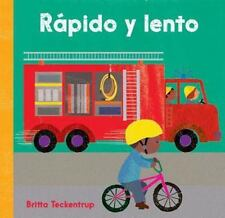 Fast and Slow Spanish (2013, Board Book)