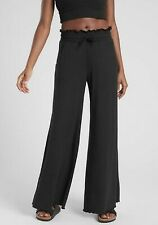 Athleta Compose Wide Leg Pants Black NWT $79 S Small