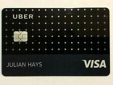 BarclaysUber Inactive/Expired Visa Credit Card Original Design from 2017