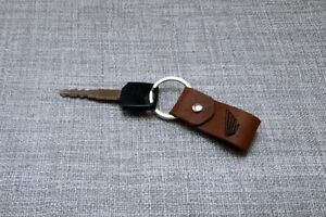 Porte-clés en cuir personnalisé fait à la main-Honda AfricaTwin CBR CTX