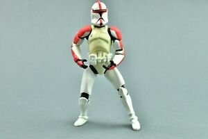 "Star Wars Attack of the Clones Red Clone Trooper 3.75"" Figure POTF"