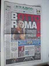 CORRIERE DELLO SPORT giornale 19/10/2013 ROMA 8 VITTORIE CONSECUTIVE ROMA-NAPOLI