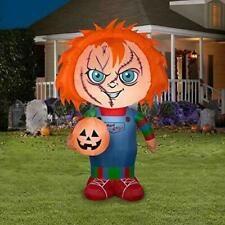 Gemmy 225599 5ft. Stylized Chucky Airblown Inflatable Doll