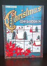 Christmas Melodies All Organs Sheet Music Book 1957 T71