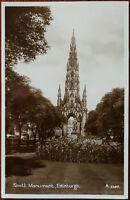 Scott Monument, Edinburgh, Scotland Postcard