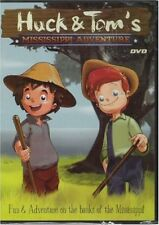 Huck and Toms Mississippi Adventure (DVD, 2006) NEW