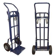 Heavy Duty 2 In 1 Appliance Hand Truck Dolly 4 Wheels Cart Moving Mobile Lift