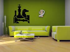 Wall Vinyl Sticker Decals Mural Room Design Art Chess Game Smart Play  bo1819