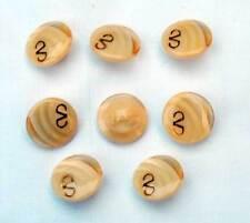 Lote de 8 botones de diseño vintage