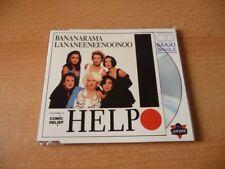 Maxi CD Bananarama feat. Lananeeneenoonoo - Help - 1989