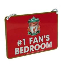 Liverpool FC Metal Bedroom No1 Fan Sign Official Merchandise FREE(UK)P+P