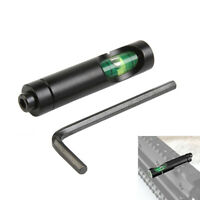 "Aluminum Spirit Bubble Level for 11mm 3/8"" Dovetail Rail Rifle Scope Laser Mount"