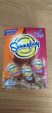 RARE Sunnyboy BNIB 6 Pack Assorted Flavours Unopened Sunny Boy Out of Date.