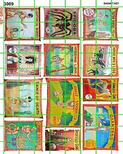 3009 DAVE'S DECALS NEW SM CIRCUS SET 2 FREAK SIDESHOW SETS BUY 5 SETS FREE S/H