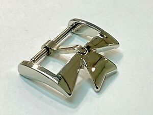 NEW VACHERON CONSTANTIN 18K White Gold 18mm Watch Buckle OEM Genuine Tang Clasp!