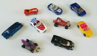 Lot of 9 Vintage 80s and 90s Diecast Matchbox and Hot Wheels Toy Cars Vehicles.