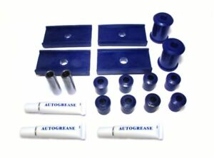 MGB REAR UPRATED SUSPENSION MOUNTING BUSHES IN POLYURETHANE  MG