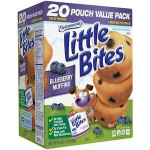 Entenmann's Little Bites Blueberry Muffins 20 CT 33 OZ