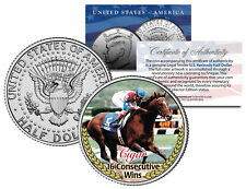 CIGAR * 16 Consecutive Wins * Thoroughbred Racehorse JFK Half Dollar U.S. Coin