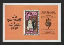 ANTIGUA 1977 SILVER JUBILEE *VF MNH MINIATURE SHEET*