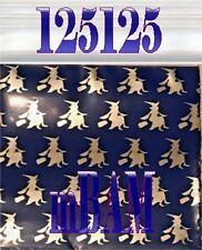 "100 Purple Witches Malfoy Lot 125125 Apple Mini Ziplock Baggies 1.25x1.25"" Witch"