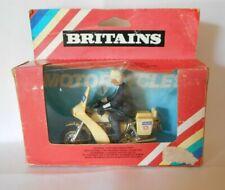 vintage Boxed Britains 9673 Norton 850 Police Motor Cycle