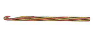KnitPro Symfonie Wooden Single Ended Crochet Hooks  Sizes 3.0mm - 12mm