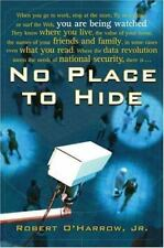 No Place to Hide by O'Harrow, Robert, Good Book