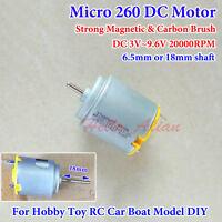 Micro FK-132-4129 MOTOR DC 3V 5V 6V High Speed DIY Slot Car Boat Model RC Drone