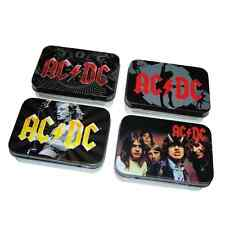 AC/DC 4 Metalldosen HIGHWAY TO HELL / BLACK ICE 4 tin boxes  ACDC  Rock N Roll