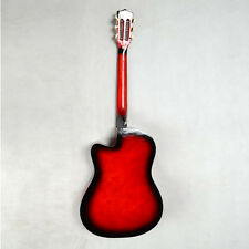 New 8 Different Color 38 Inch Cutaway Acoustic Guitar Set for Beginner