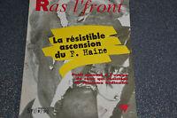 RAS L'FRONT la résible ascencion du F. Haine 1996 (D4)