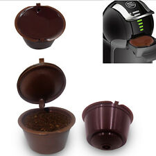 REUSABLE 4PCS PACK REFILLABLE COFFEE CAPSULES POD CUP FOR NESCAFE DOLCE GUSTO