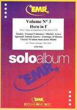 Solo album pour Cor en Fa avec accompagnement de Piano ou orgue - Volume 3