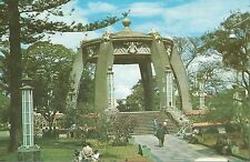 San Jose Costa Rica Central Park Postcard 1950s